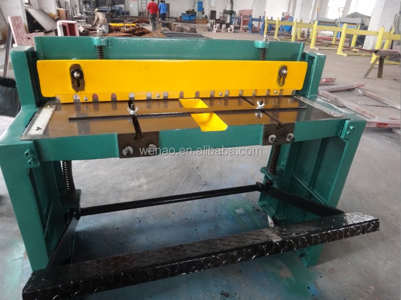 Hydraulic Metal Plates Shear Machine