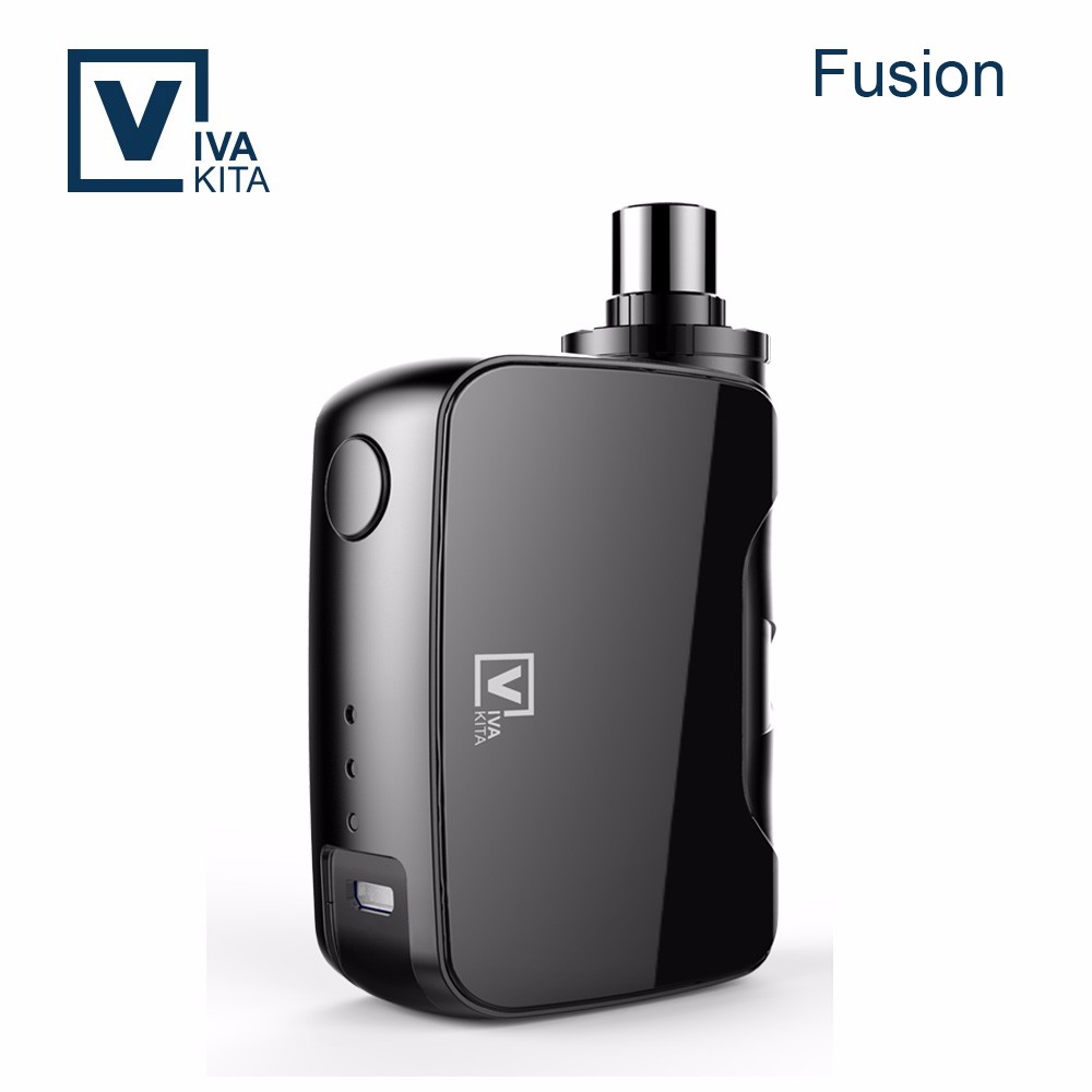 Viva-kita new arrival Fusion mod 50w rainbow colored smoke e cigarette