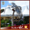 Outdoor Decoration Stainless Steel Coconut Tree Sculpture