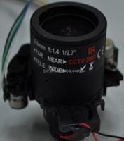 IR-CUT 2.8-12mm Auto iris adjustable motorized zoom cctv auto focus lens