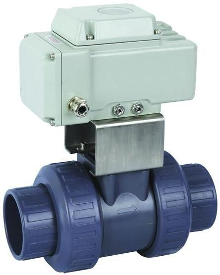 electric actuator plastic water Ball Valve