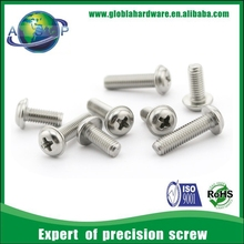 M3 stainless steel philips pan head screws