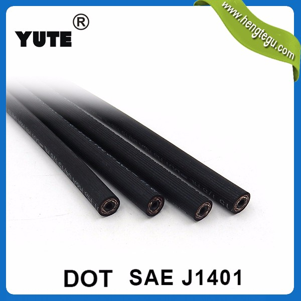 YUTE professional manufacturer truck trailer parts high quality SAE J1402 air brake hose