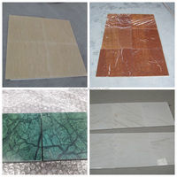 Cheap natural marble floor tile from factory with many colors valid
