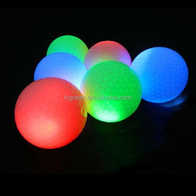 2015 newest hot sale high qualitty Golf range LED goll ball, practice for new year