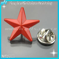 Promotion Gifts Red Star Pins Custom Lapel Pins GFT-MB330