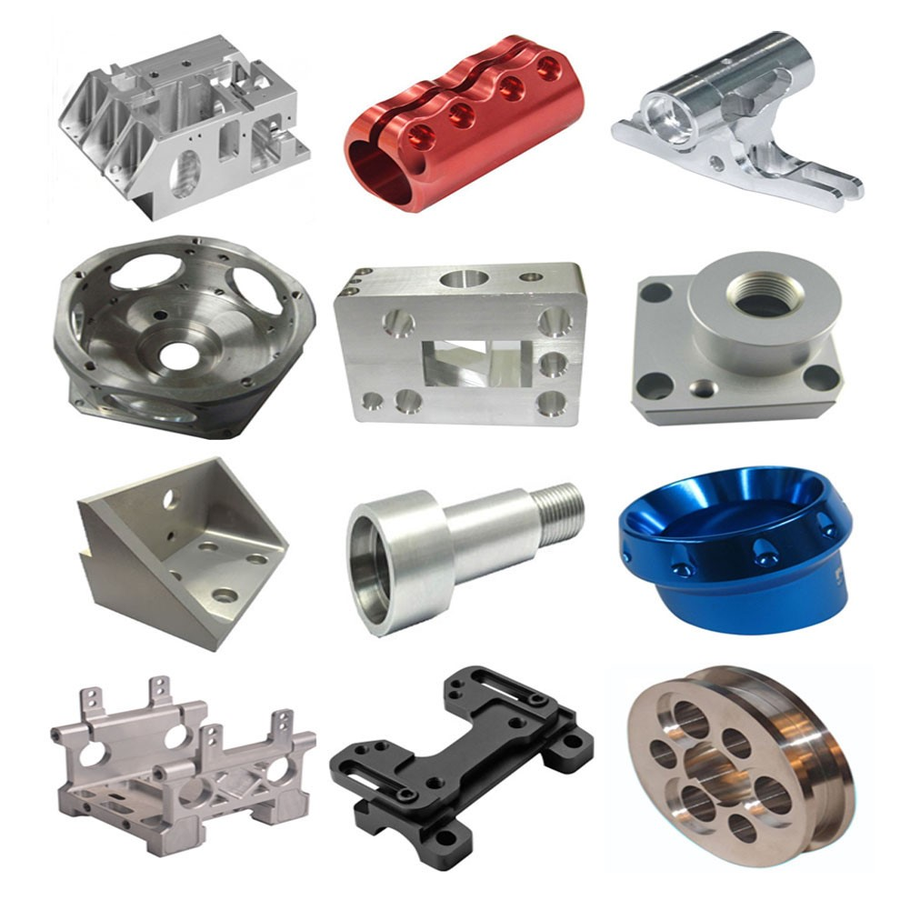 Custom machinery precision CNC machining die casting turning aluminium parts with anodizing or painting