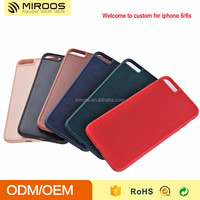 2 in 1 Hybrid PC TPU color blank case for iphone 6/6s custom genuine leather case