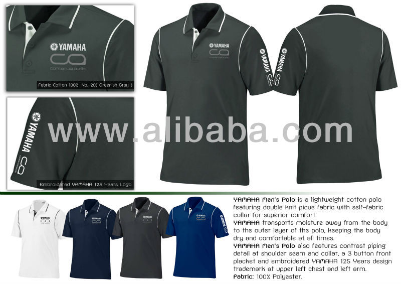 Yamaha Polo Shirt Design