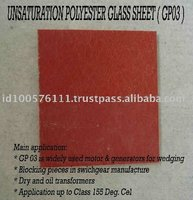 High Voltage Laminate Unsaturation Polyester Glass Sheet