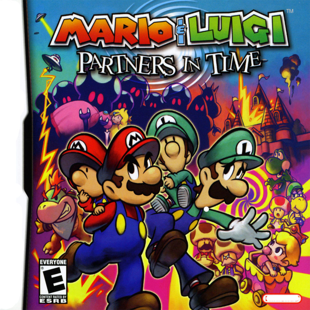 Manufacture factory cheapest game cartridge Mario & Luigi: Partners in Time