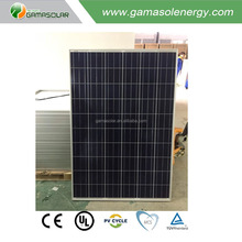 CE TUV 240W 250W 260W polycrystalline solar panel with long warranty for home