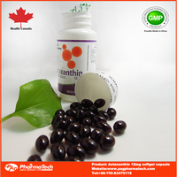 Chinese supplier 12mg Astaxanthin Softgel