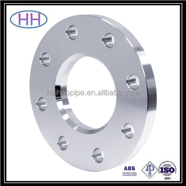 ansi b16.5 flat face flange with ABS certification