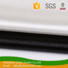 China supplier zigzag print warm orange supersoft nylon mesh Double Jersey knitted textile fabric
