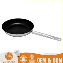 Professional Factory Supply Cost-Effective Oem Production Stainless Steel Fat Free Frying Pan
