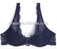 new lace padded nice triangle bra for meture women