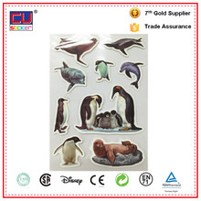 Factory Animal penguins Vinyl die cut sticker decal paper for kid gift