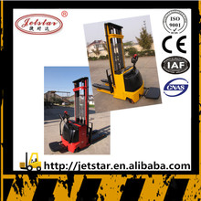 China Jetstar Power Steering System Electric Pallet Forklift Stacker