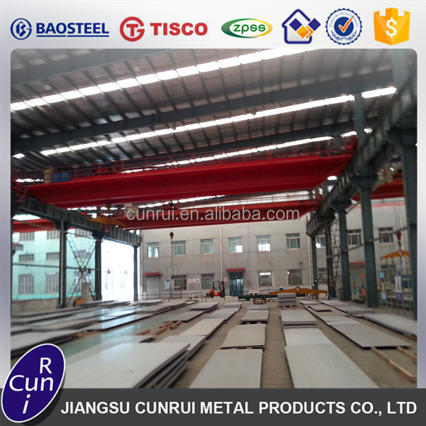 China Supplier Wuxi Cunrui Wholesale Posco mill 430 stainless steel sheet