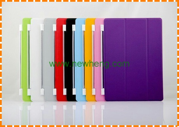 For Ipad Mini 1/2/3 Three Folds Stand Leather Case Cover