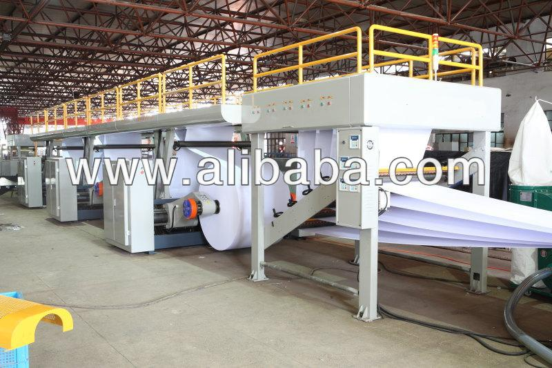 Full automatic A4 copy paper cutting and packing machine