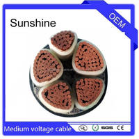 COPPER CONDUCTOR FRC XLPE INSULATED reliable LSOH sheath MV cable