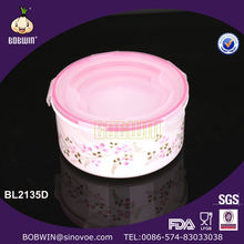 plastic food container,PP round plastic lunch box