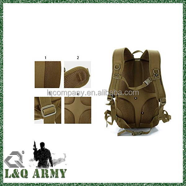 Tactical utility gear 3d backpack army