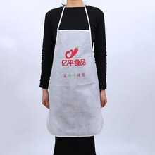 Disposable advertising promotion cheaper apron