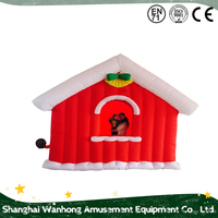 Top Sale Inflatable Santa House
