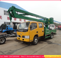 High quality low price 16m 18m mini bucket truck sale
