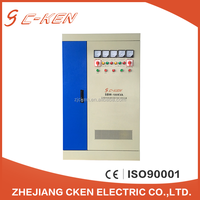 Cken CE Approved High Quality Products Customization SBW 100KVA 150KVA Pointer Display Big Power AC Voltage Stabilizers