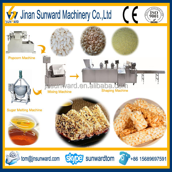 Breakfast Cereal Candy Bar Cutting Machine