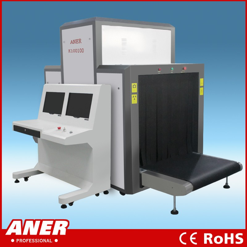 x-ray baggage scanner security inspection device K100100 for airport, hotel, court
