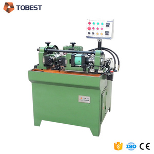 automatic knurling machine bolts thread making machine