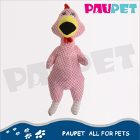 Excellent cheap plush toys stuffed custom pet dog chicken plush toy