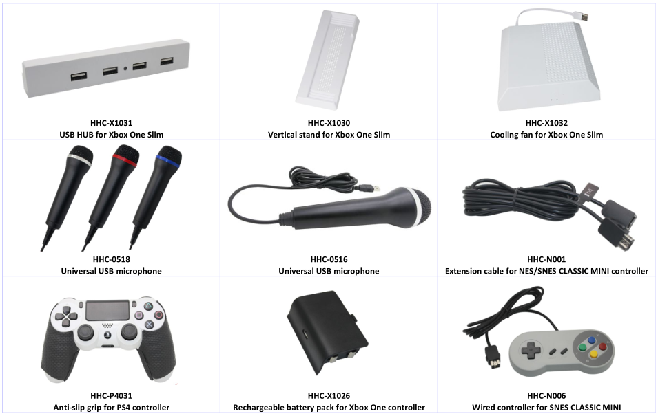 Video games accessories factory price Gamecube controller Adapter for Wii  U & PC & N-Switch