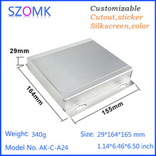 SZOMK extruded aluminum enclosure and electronics junction box with detached body