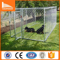 Europe hot salt products iron fence dog kennel (CE ISO9001)