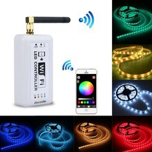 Wifi Wireless RGB LED Strip Controller for iOS iPhone iPad Android Smartphone Tablet