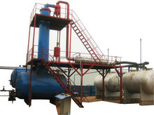 Oil recycling plant pyrolysis oil distillation equipment machine for waste oil refining plant with CE