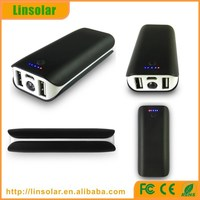 4400mAh dual usb 5 volt rechargeable battery pack