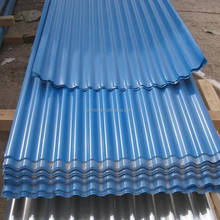Shandong PPGI color coated corrugated steel roofing/galvanized prepainted metal roof tile/ wave tile
