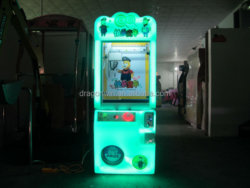 Entertainment indoor toy claw arcade vending key master game machines