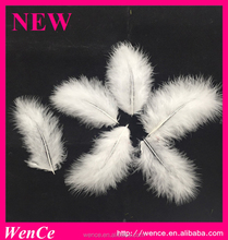 Best quality plume Wholesale Cheap White Cheap Fluffy Turkey Marabou Feather