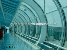 High Quality Tempered Laminated Curve Glass For Building Curtain Wall