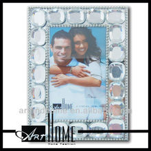 2017 curved glass photo frames 1115-001