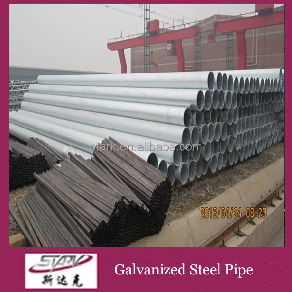Pipe manufacturers astm a53 schedule 10 galvanized steel pipe