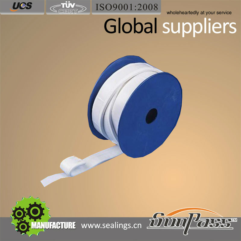 China Exporter PTFE Seal Tape Good Price White Expanded Teflon Joint Sealant Tape Price